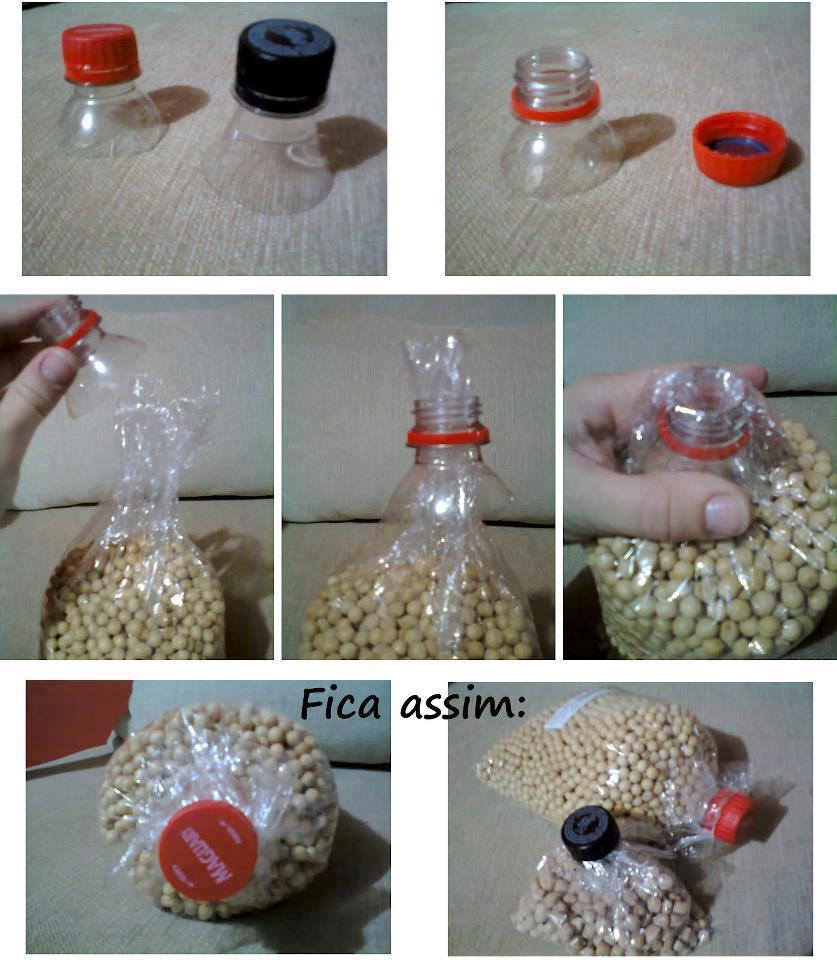 Arte e Objetos feita com Material Reciclado
