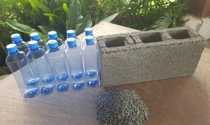 Cientistas desenvolvem Tijolo de Plástico Reciclado