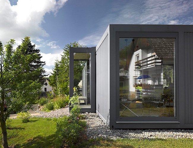 Casa em Container decorado por dentro