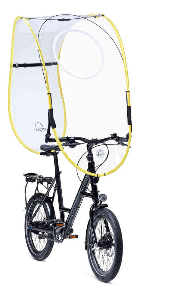 Uma capa de chuva para Bicicletas