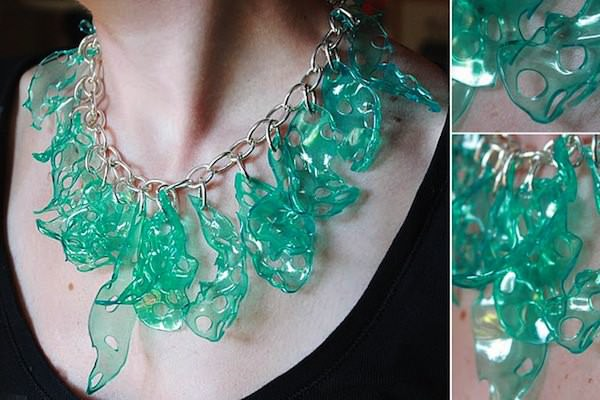Aprenda a fazer Bijouterias com Plástico Reciclado