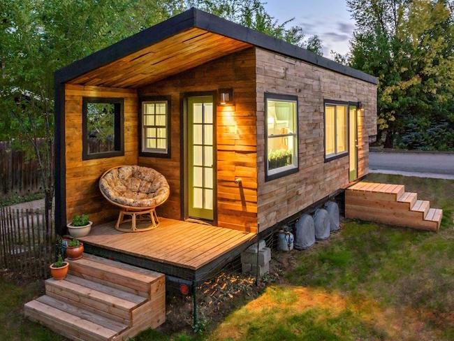 Casa em Container decorado arquiteto