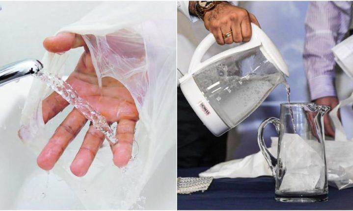 cientistas desenvolvem plástico que dissolve na água
