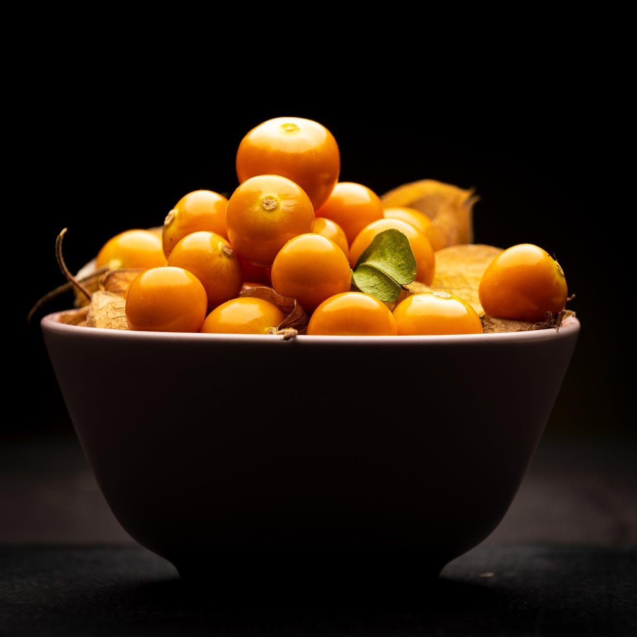 food leaf color bowl